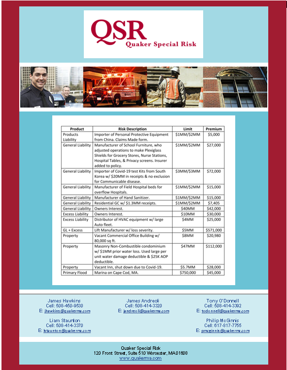 Covid-19 Notable Account Flyer