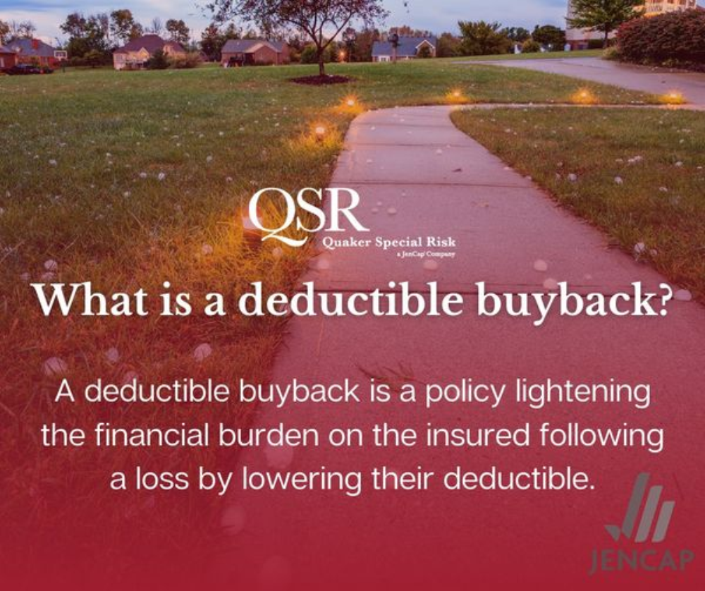2020 Deductible Buyback